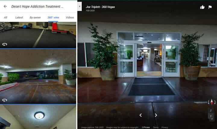 virtual 360 tour of desert hope treatment center